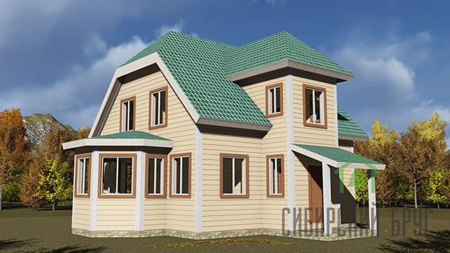 Проект 363, дом