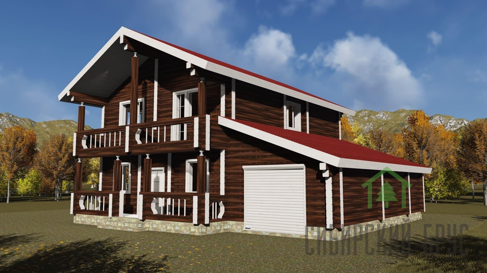 Проект 340, дом